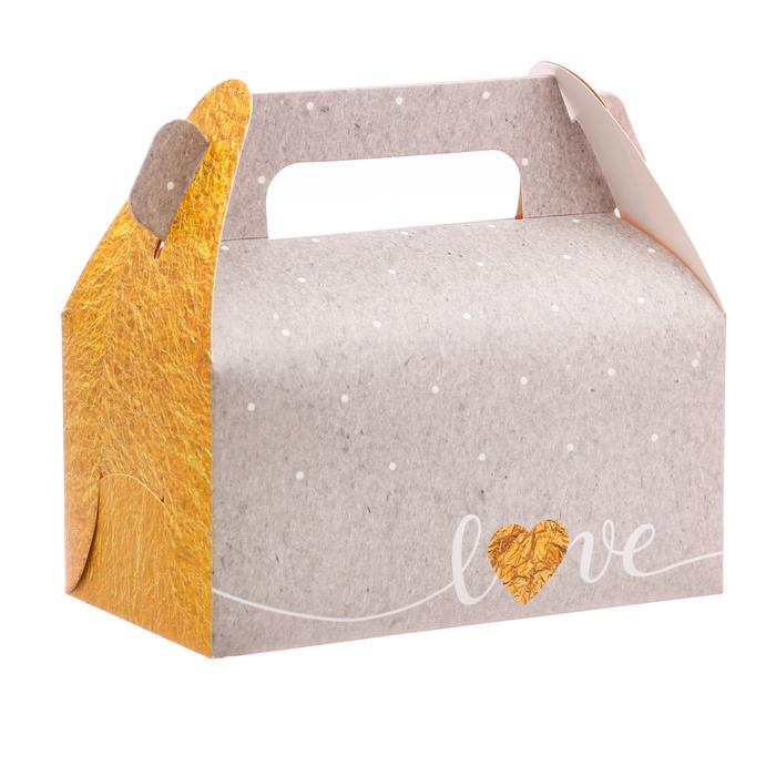 Сундук для сладостей Love, 16 × 15 × 9 см - фото 143889151