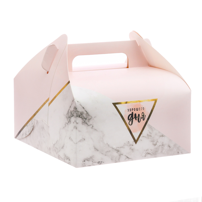 Сундук для сладостей «Хорошего дня», 16 × 15 × 18 см - фото 145788007