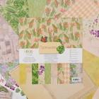 """Набор бумаги для скрапбукинга """"Тропикана"""" (12 листов) 30,5х30,5 см, 250 гр/м2"""