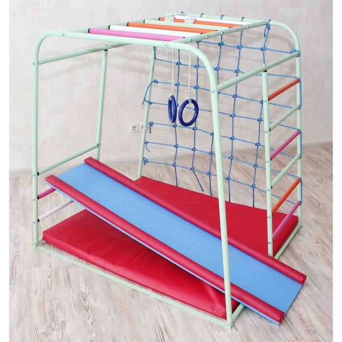 Детский спортивный комплекс Cube, цвет фисташка