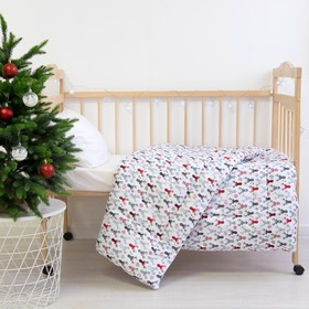 Одеяло Этель «Рога», 110 × 140 см, 100 % хлопок, фланель