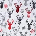 Одеяло Этель «Рога», 110 × 140 см, 100 % хлопок, фланель - фото 105554826