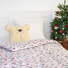 Одеяло 1,5 сп. «Этель» Рога, 140×205 см, 100% хлопок, фланель