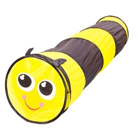 Детский туннель «Пчёлка», цвет черно-жёлтый