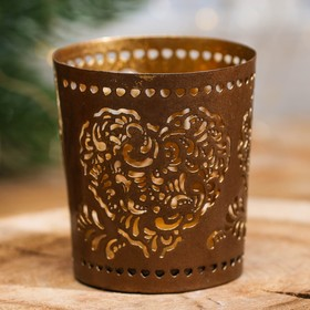 """Candle holder souvenir India """"the Heart"""""""