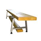 Гимнастическая скамейка на металлических ножках 150х23 см