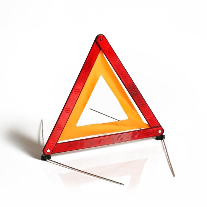 Знак аварийной остановки, на спицах, пластиковый футляр
