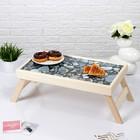 """Столик для завтрака """"Камень"""", 48×28 см"""