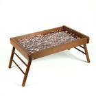 """Столик для завтрака 34х52 см """"Кофейные зерна"""""""