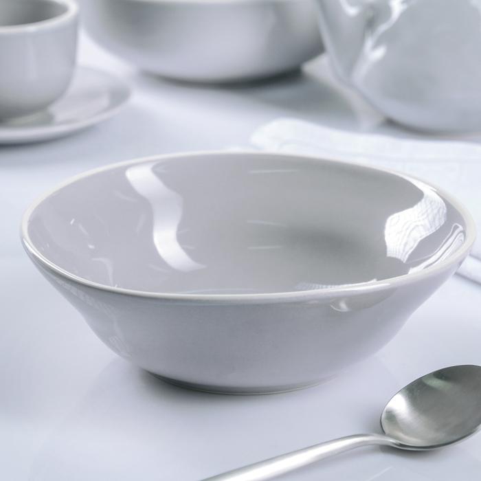 """Тарелка глубокая 20 см """"Зимнее утро"""", 600 мл"""