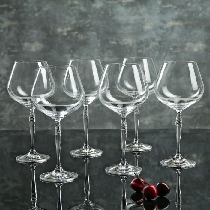 """Набор бокалов для вина 570 мл """"Кейра"""", 6 шт"""