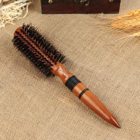 Брашинг, d = 6 см, цвет «тёмное дерево»