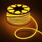 Гибкий неон 8 х 16 мм, 50 метров, LED-120-SMD2835, 24 V, ЖЕЛТЫЙ