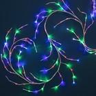 Ветка светодиодная, Д:3 м, Н.Б. LED-160/40, эффект мерцания, 220 В, МУЛЬТИ