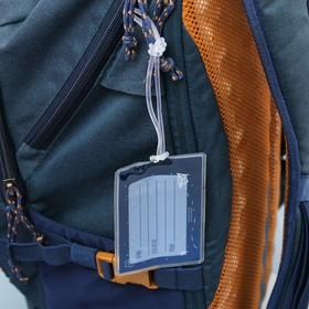 Дорожный набор «Наслаждайся»: обложка на паспорт, бирка на чемодан - фото 4638245