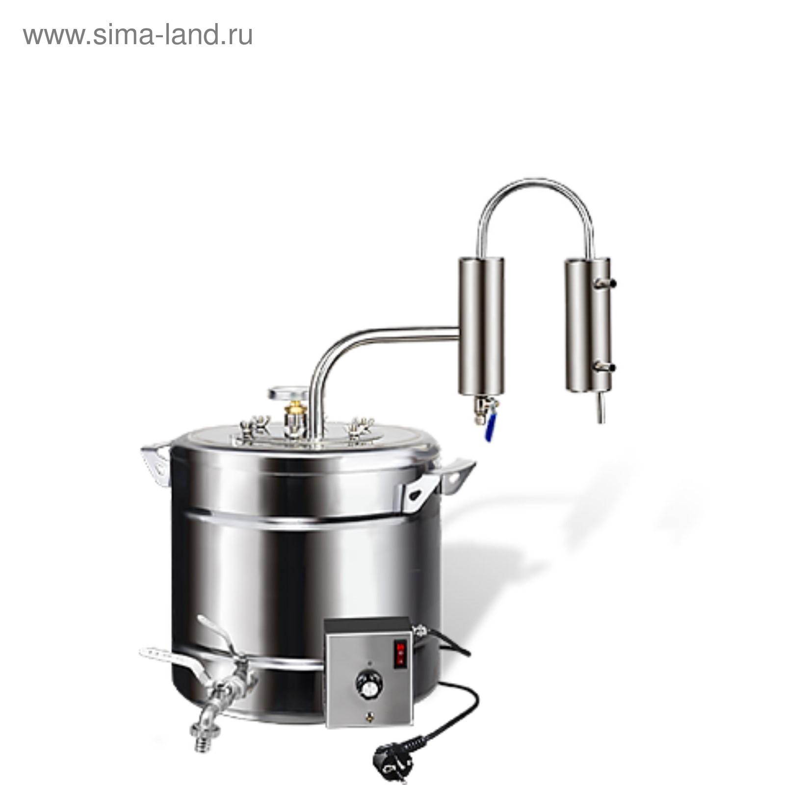 Купить самогонный аппарат с тэном и сухопарником походная коптильня для горячего копчения купить