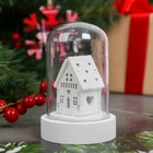 "New year souvenir with lighting ""Winter house"""