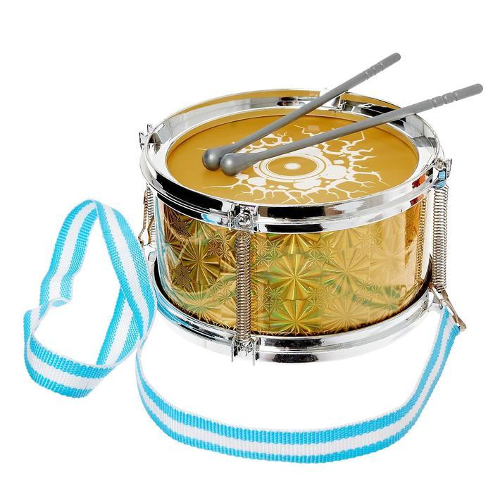 Барабан «Рок бум», d=15 см, детский, цвета МИКС