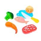 Набор продуктов в ланч боксе «Возьми с собой», 7 предметов, МИКС - фото 105579440