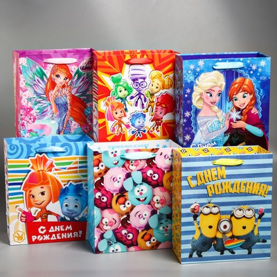 Package gift MIX, 23 x 27 x 11.5 cm