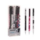"""Ручка """"пиши-стирай"""" гелевая CATODREAM, игольчатый пишущий узел 0.5мм, чернила синие, стержень 126.5 мм, микс"""