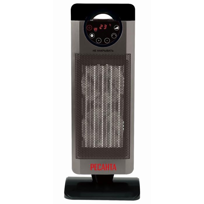 """Тепловентилятор """"Ресанта"""" ТВК-3, 1000/2000 Вт, защита от перегрева, поворот, серый"""