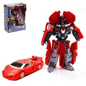 Робот «Автобот», трансформируется, металлический