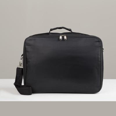 Bag business, Department 2 zippered, 2 external pockets, a long strap color black
