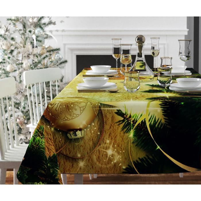 Скатерть с пропиткой «Волшебное мгновение», 120х140 см, оксфорд, 240 г/м2, 100% полиэстер