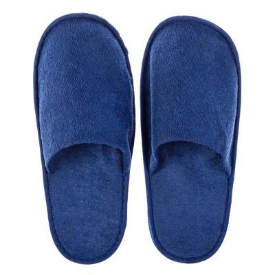 Тапочки гостевые, цвет синий, размер 42
