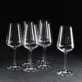 Набор бокалов для вина «Сандра», 350 мл, 6 шт