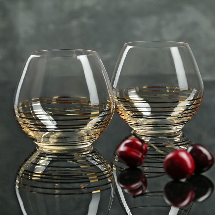"""Набор стаканов для виски 440 мл """"Аморосо"""", 2 шт"""