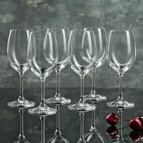 Набор бокалов для вина «Лара», 350 мл, 6 шт