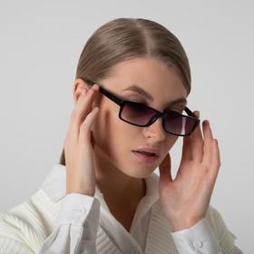 Glasses corrective 6617, black color, tinted, limb. duik., +3,5