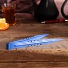 Щипцы для кальяна NEO LUX, 22см, синий цвет