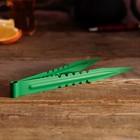 Щипцы для кальяна NEO LUX, 22см, зеленый цвет