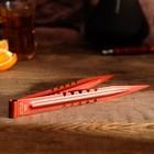 Щипцы для кальяна NEO LUX, 22 см, красный цвет