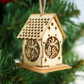 """Декор с подсветкой """"Новогодние колокольчики"""", мини"""