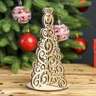 "Souvenir wood ""Herringbone Fishnet"" 20x12 cm (set of 3 parts)"