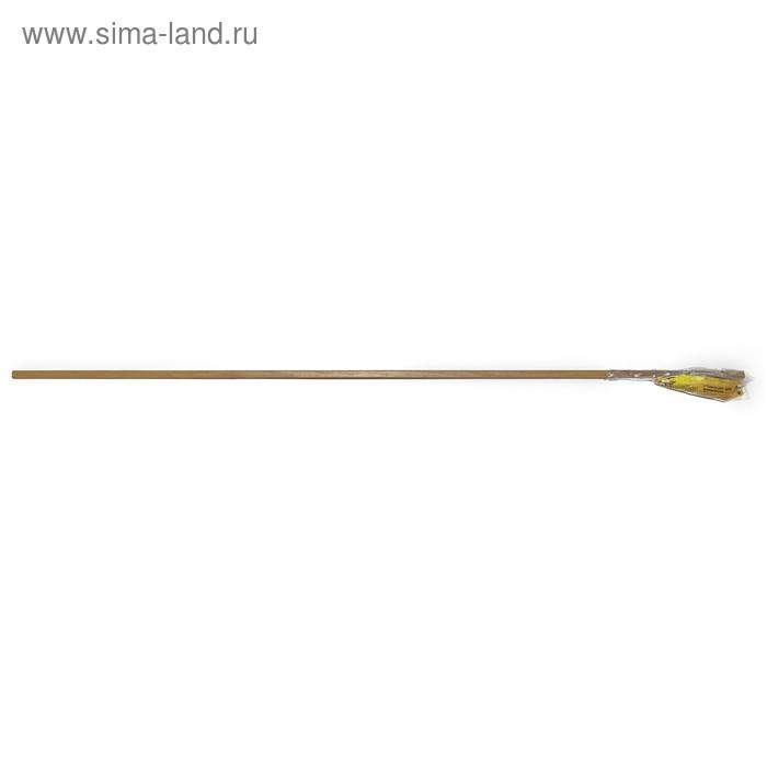 Шина для карниза 180 см, цвет светло-коричневый