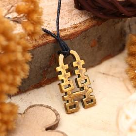 """Амулет из ювелирной бронзы """"Хси-Хси"""" (двойное счастье) (символ привлечения удачи в браке и взаимоотношениях)"""