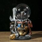 "Плазменный шар полистоун ""Пират Меткий Джек"" 21,5х14х11,5 см"