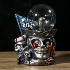 """Плазменный шар полистоун """"Пират Слепой Пью"""" 21х15х10 см"""