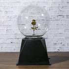 """Плазменный шар """"Роза золотая"""" 21х14х10 см"""