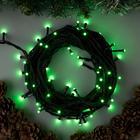 """Гирлянда """"Нить"""" уличная, УМС, 10 м, 3W LED(SMD-SB)-72-220V, свечение зелёное"""