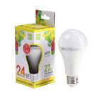 Лампа светодиодная ASD LED-A60-standard, Е27, 24 Вт, 230 В, 3000 К, 2160 Лм