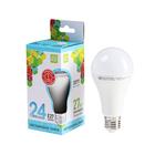 Лампа светодиодная ASD LED-A60 (А65)-standard, Е27, 24 Вт, 230 В, 4000 К, 2160 Лм