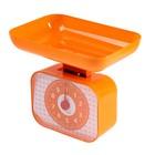 Весы кухонные LuazON LVKM-1001, до 10 кг, шаг 50 г, чаша 1200 мл, пластик, оранжевые