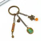 """Брелок составной """"ХМАО"""" (нефтяная вышка), 4 х 12 см"""