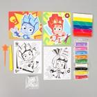 Набор для рисования Фиксики 44 предмета - фото 974171